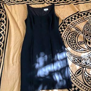 Tahari ASL black petite work/formal dress
